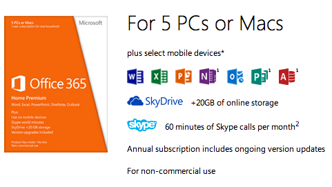 MIcrosoft Updates Office 365 for Business