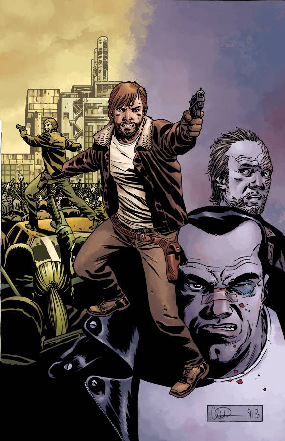 Cover115 The Blockbuster Walking Dead TV Series