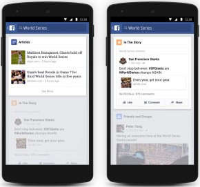 Facebook Android Trending